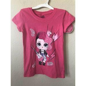 LOL Surprise Rocker Girl Short Sleeve T Shirt Top